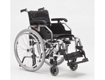 Кресло-коляска (ММ) FS957LQ механическая алюминиевая (ширина 41, 46 см)