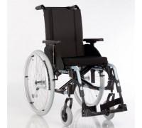 Кресло-коляска прогулочная Старт Эффект темно-синий  (колеса пневмо)