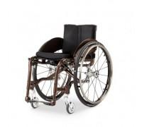Кресло-коляска активная MEYRA 1.360 ZX1 (MEDIUM) ширина сидения 40 см, цвет рамы-серебро