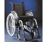 Кресло-коляска Старт Комфорт светло-голубой металлик (пневмо колеса)
