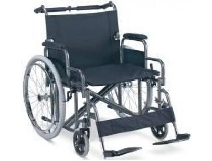Кресло-коляска (ММ) FS209AE-61 механическая стальная
