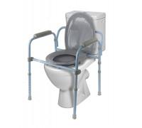 Кресло-туалет Barry 10590, цвет рамы – светло-голубой