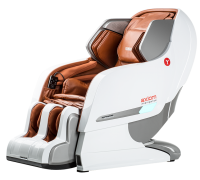 Массажное кресло Yamaguchi YA-6000 Axiom (бежевый, черный, рыжий)