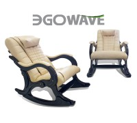 Массажное кресло-качалка EGO WAVE EG-2001 LUX (карамель, шоколад, антрацит, орех)