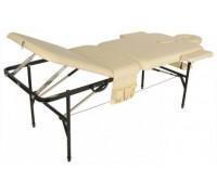 Стол массажный переносной со стальной рамой JFST02 (МСТ-104Л) бежевый