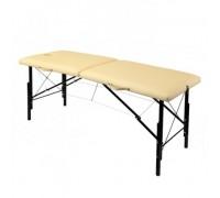 Складной деревянный массажный стол с изменением высоты 190х70см (WhN190)