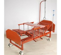 Кровать Belberg 6-191ПН с  туалетным устройством ЛДСП (матрас, противопролежневый матрас, столик)
