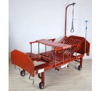 Кровать Belberg 5-036Н с туалетным устройством ЛДСП (матрас+столик)