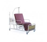 Медицинская кровать с кардио-креслом Belberg 4-02 с санитарным оснащением (матрас в комплекте)