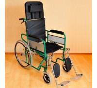Кресло-коляска Оптим FS902GC (задние пневматические колеса)