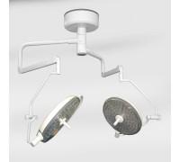 Светильник хирургический потолочный двублочный Армед LED650 (светодиод.)
