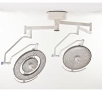 Светильник хирургический потолочный двублочный Армед LED750 (светодиод.)