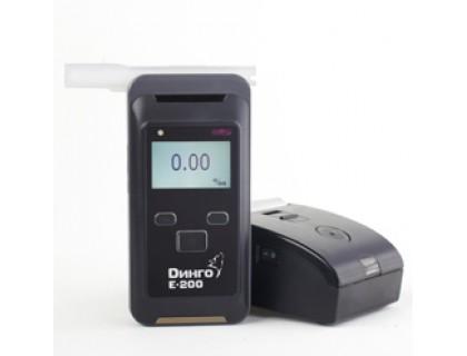 Алкотестер Динго Е-200 с принтером (без BLUETOOTH и без слота для SD-карты)