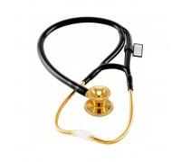 Фонендоскоп MDF Classic Cardiology из нержавеющей стали цвет c двойной оливой GOLDBLACK размер OS (MDF797K11)