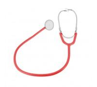 Стетоскоп Amrus 04-AM300 RD красный медсестринский с 1-сторонней головкой из алюминия