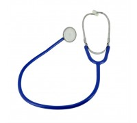 Стетоскоп Amrus 04-AM300 BU синий медсестринский с 1-сторонней головкой из алюминия