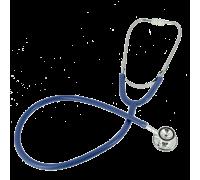 Стетоскоп Amrus 04-AM400 BU синий терапевтический с 2-сторонней головкой из алюминия