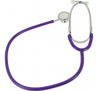Стетоскоп Amrus 04-AM507 PP фиолетовый педиатрический с 2-сторонней головкой из алюминия