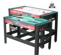 Игровой стол - трансформер DFC DRIVE ES-GT-48242 Модель 2 в 1: аэрохоккей/бильярд