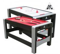 Игровой стол - трансформер DFC FERIA ES-GT-66322 Модель 2 в 1: аэрохоккей/бильярд