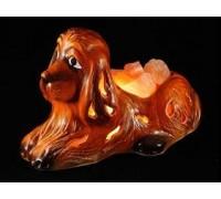 Солевая лампа собачка 3,5-4,5 кг