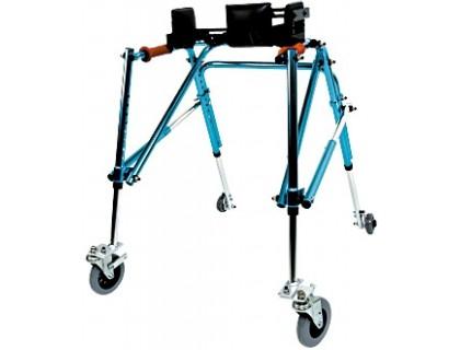 Ходунки-опоры детские Симс 10185 большие (высота 59-78) на колесах с ремнями