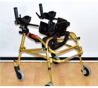 Ходунки Оптим ДЦП HMP-KA 1200 на 4-х колесах с подлокотной опорой