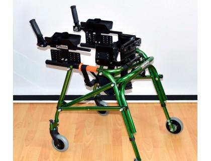 Ходунки Оптим ДЦП HMP-KA 2200 на 4-х колесах с подлокотной опорой, арт мг9010-2
