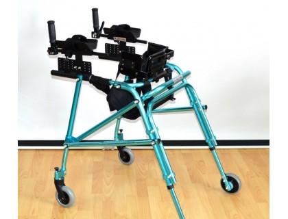 Ходунки Оптим ДЦП HMP-KA 3200 на 4-х колесах с подлокотной опорой