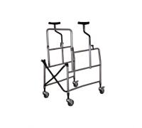 Ходунки-опоры на 4-х колесах высокие с подмышечными опорами Реботек (184.00.20)