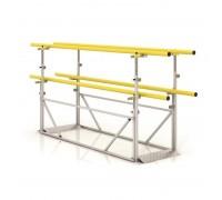 Брусья двухъярусные для реабилитации (обучения ходьбе) СН-70.04.01 для взрослых (желтые)
