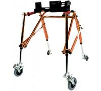Ходунки-опоры детские на колесах с ремнями Симс-2 10185 (47-64 см)
