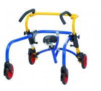 Ходунки Реботек Плуто детские с сиденьем и передними стопорами разм.2
