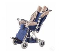 Кресло-коляска инвалидная детская Василиса без козырька 4 размер  (пневматические колеса)