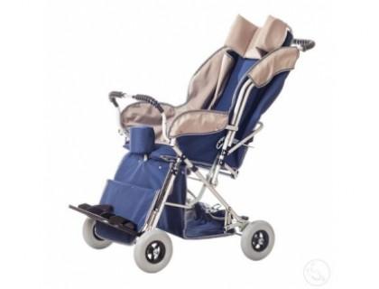 Кресло-коляска инвалидная детская Василиса без козырька 4 размер  (литые колеса)