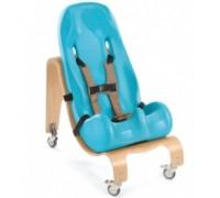 Кресло Ситтер Сит Special Tomato  с деревянной базой на колесах цвет аква