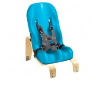 Кресло Ситтер Сит Special Tomato  с деревянной базой цвет аква