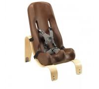 Кресло Ситтер Сит Special Tomato с деревянной базой цвет шоколад
