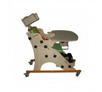 """Опора для сидения, ОС-001.1.03, """"Я Могу!"""" Размер 3 (со столиком и подголовником)"""