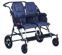 Детская прогулочная коляска Patron TOM 4 Classic DUO (T4CWYPMDM) синий