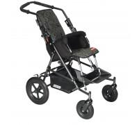 Детская прогулочная коляска Patron Tom 4 Classic (T4CWKPMYY) черный с зеленым