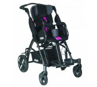 Детская прогулочная коляска Patron Tom 5 Clipper (T5CWKPMYY) черный/розовый