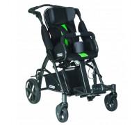 Детская прогулочная коляска Patron Tom 5 Clipper (T5CWKPMYY) черный/зеленый