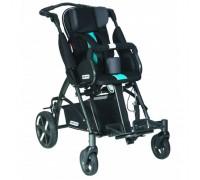 Детская прогулочная коляска Patron Tom 5 Clipper (T5CWKPMYY) черный/голубой