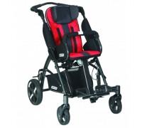 Детская прогулочная коляска Patron Tom 5 Clipper (T5CWKPMYY) красный с черным