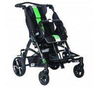 Детская прогулочная коляска Patron Tom 5 Streeter (T5SWKPMYY) черный/зеленый (антрацит)