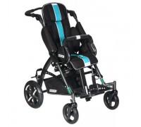 Детская прогулочная коляска Patron Tom 5 Streeter (T5SWKPMYY) черный/голубой (антрацит)
