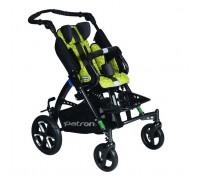 Детская прогулочная коляска Patron Tom 5 Streeter (T5SWKPMYY) лайм (антрацит)