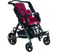 Детская прогулочная коляска Patron Tom 5 Streeter (T5SWKPMYY) алый (антрацит)