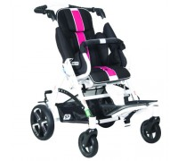 Детская прогулочная коляска Patron Tom 5 Streeter (T5SWKPMYY) черный/розовый (белый)